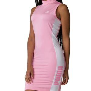 Pink Puma Dress XS